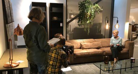 Filmopname Buro Binnenkans WOW samenwerking stylist en retailer